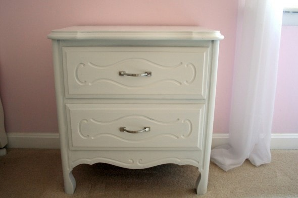 freecycle nightstand after
