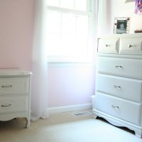 A freecycle dresser and nightstand
