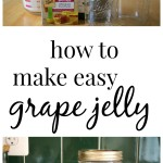 how to make grape jelly from juice