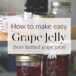 how to make easy grape jelly