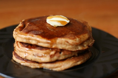 Whole Wheat Buttermilk Pancakes - The Frugal Girl