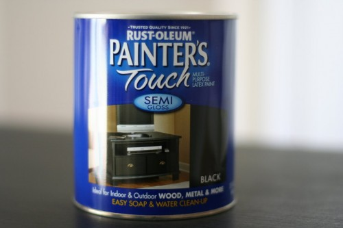 This is sold at Home Depot  but I would imagine that something similar is  sold in other stores  This paint is thinner than ordinary paint  which  makes it. How to Paint Wooden Furniture   The Frugal Girl