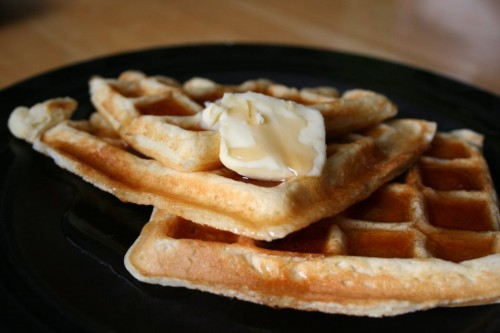 buttermilk waffle recipe. Most waffle recipes have a