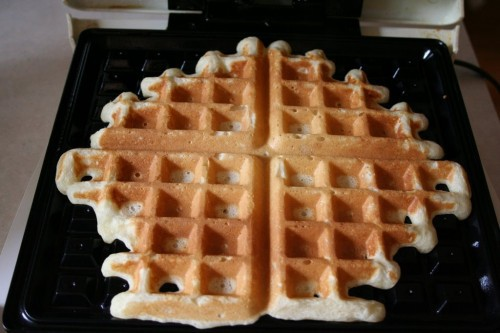 Kate's Light N' Fluffy Buttermilk And Chocolate Chip Waffles Recipes ...