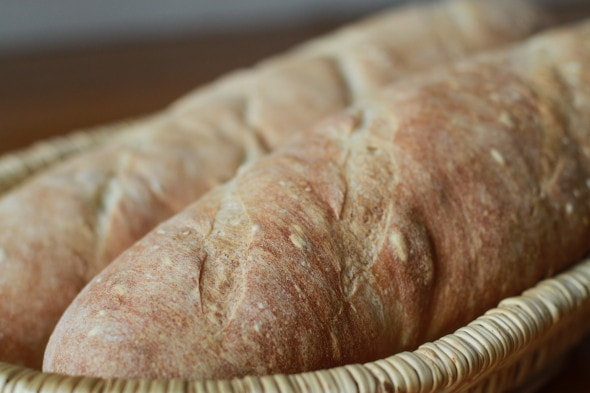 5 ingredient homemade french bread