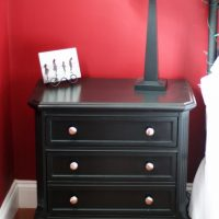 A duo of Goodwill nightstands