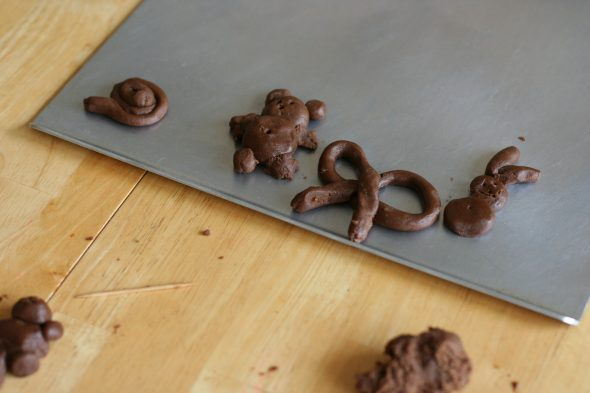 chocolate cookie play dough