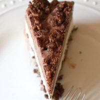 Ice Cream Crunch Cake