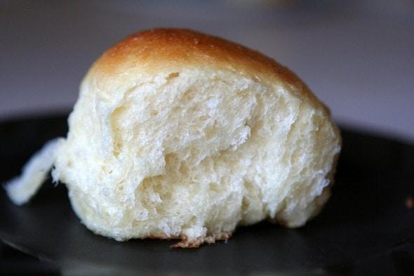 the frugal girl honey glazed pan rolls