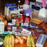 Grocery Shopping and Menu Plan-week 4 of cash only