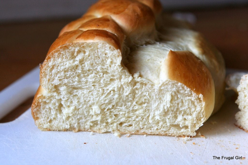 Oven baked yeast bread recipe