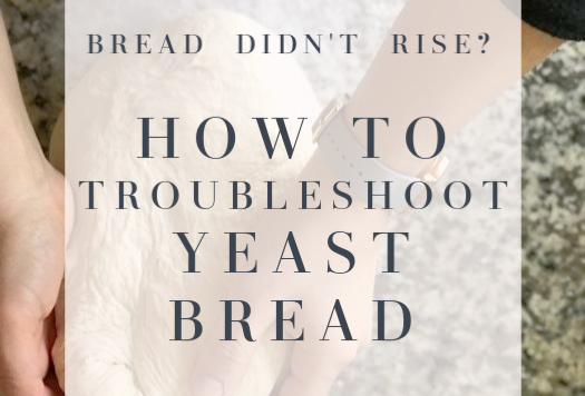 How to troubleshoot yeast bread
