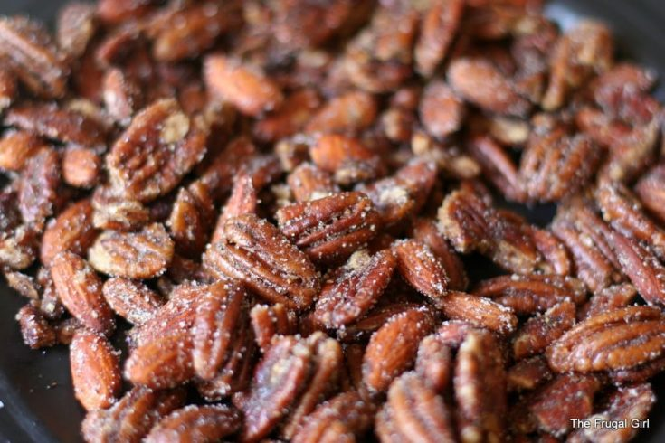 Easy Spiced Pecans (or other nuts)
