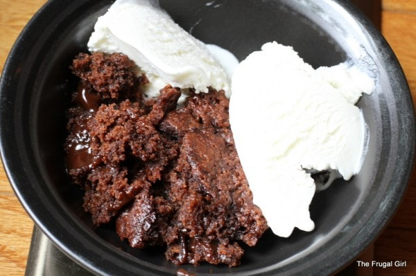 Wednesday Baking | Hot Fudge Pudding Cake