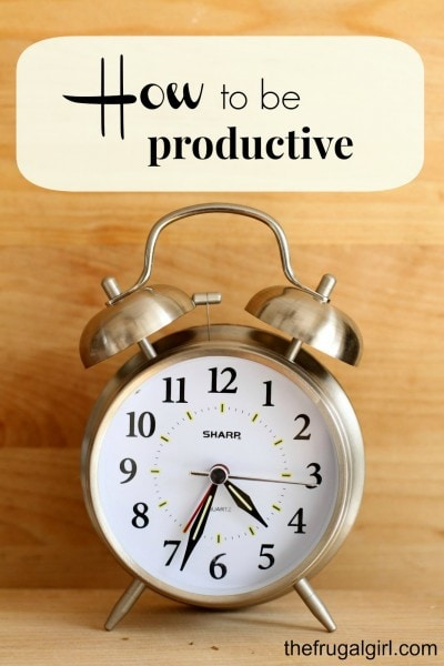 How To Be Productive | Cut Schedule Clutter