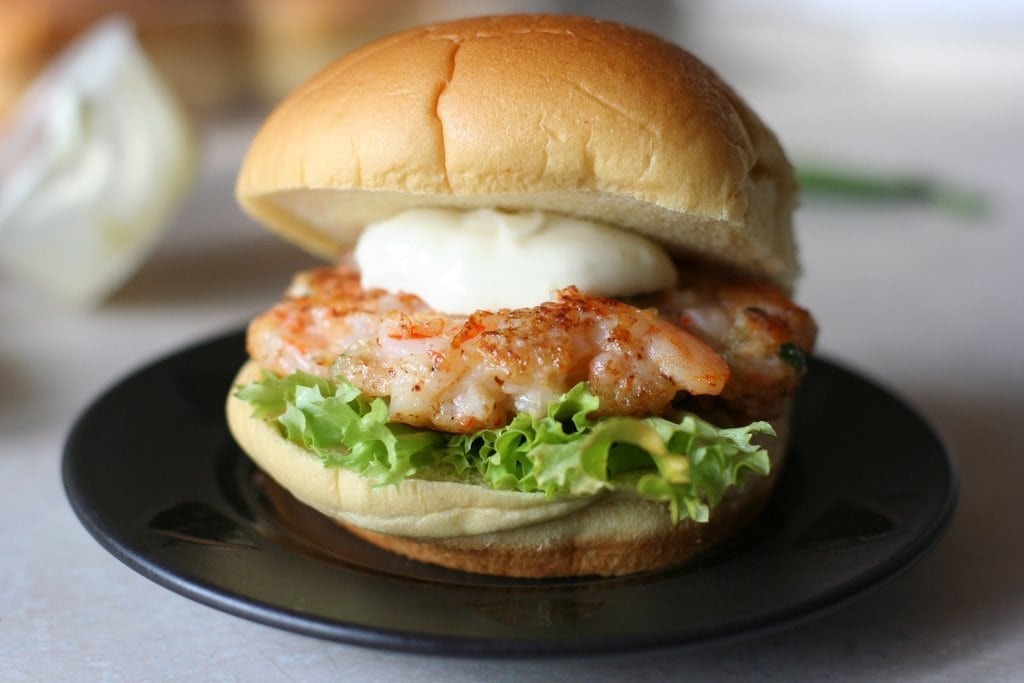 How To Make Shrimp Burgers The Frugal Girl