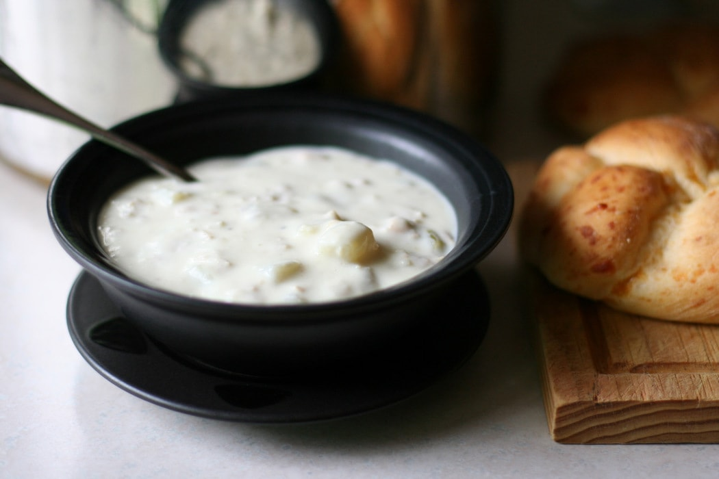 Homemade Clam Chowder - The Frugal Girl