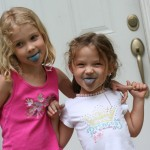 Smurf Ice Cream Tongues