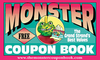 Monster coupon book 2018 myrtle beach