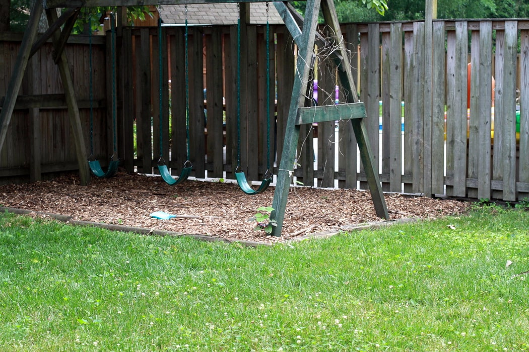Dirty Wood Chips ~ I got a little dirty yesterday the frugal girl