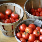 If you need me, I'll be in the kitchen, canning tomatoes.