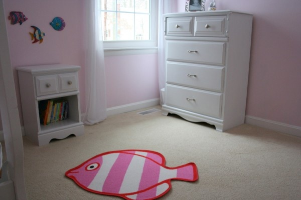 Zoe's painted white furniture