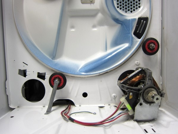 clothes dryer wheels