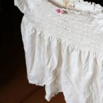 How to turn an empire-waist shirt into a skirt