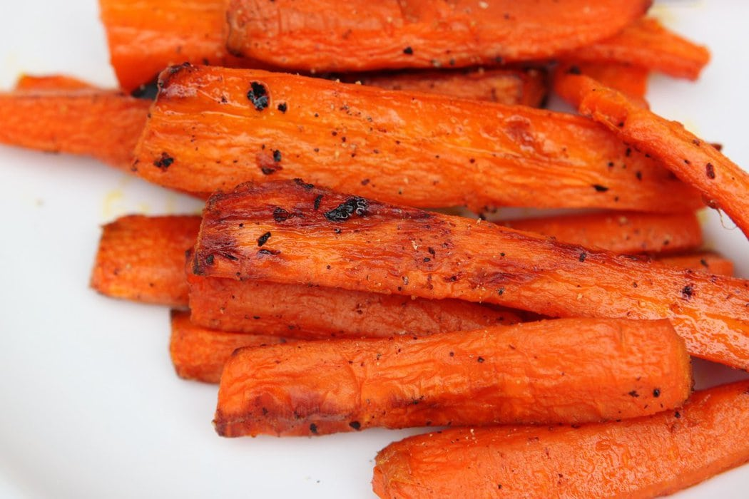 Easy, Ridiculously Good Roasted Carrots - The Frugal Girl