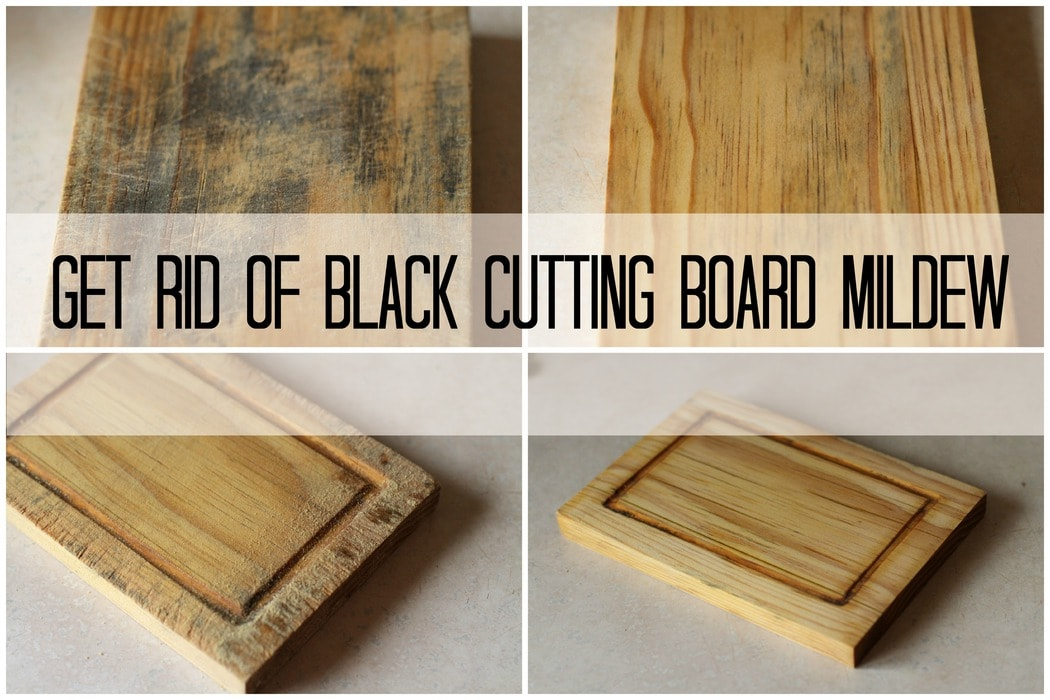 How To Get Rid Of Mildew >> How To Get Rid Of Black Cutting Board Mildew The Frugal Girl