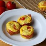 Prosciutto-Crusted Mini-Quiches