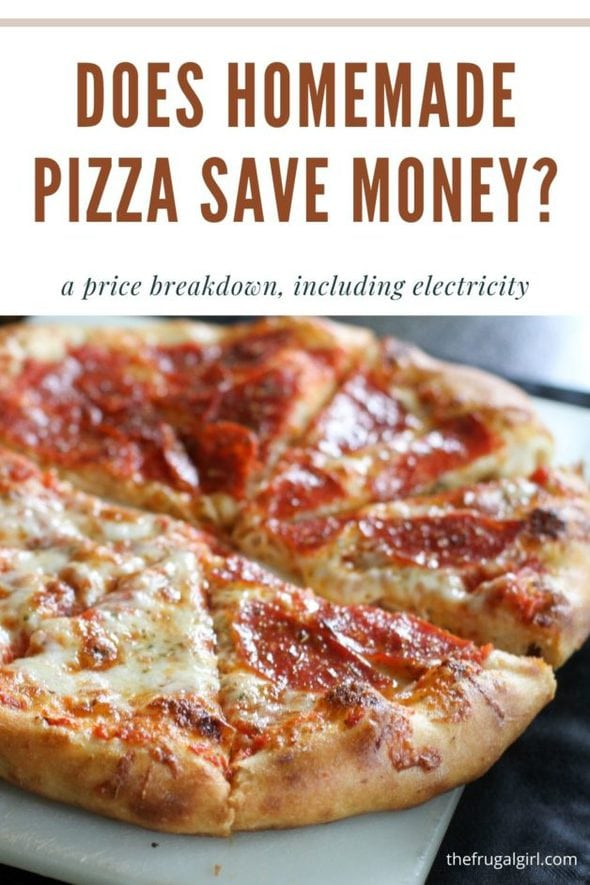 Does Homemade Pizza Save Money?