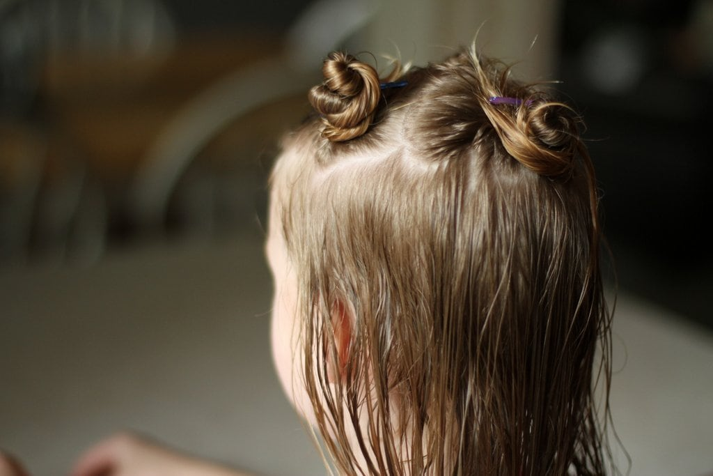 hair pinned up for home bob haircut