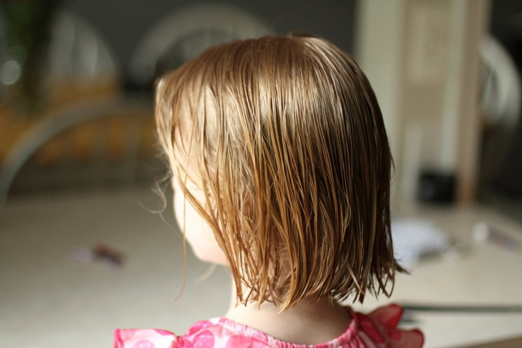 How to cut hair a simple bob the frugal girl solutioingenieria Gallery