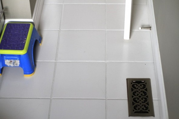 You Guys Tile Grout Paint Amazing The Frugal Girl - How do i clean the grout on my tile floor