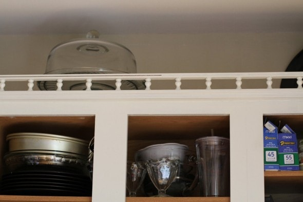 Bon Caulk On White Cabinets