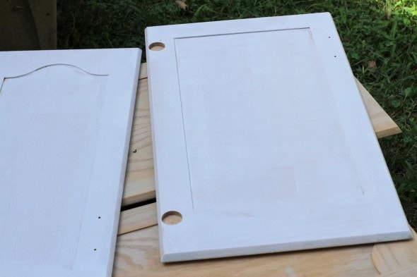 one coat of oil-based primer