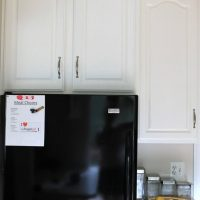 Before and afters of kitchen cabinet painting