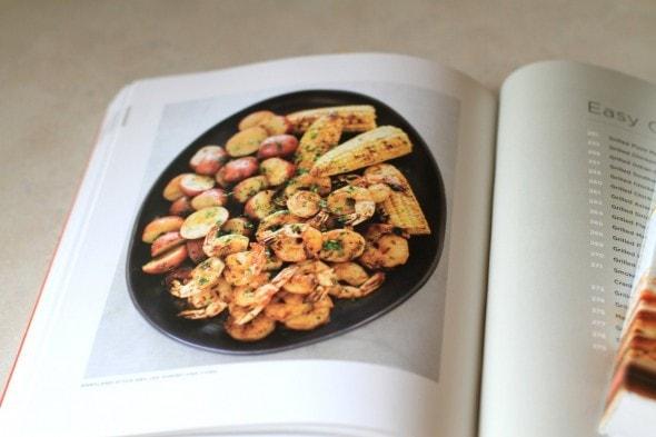 corn, potatoes, and shrimp