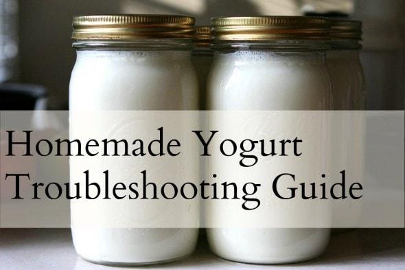 yogurt troubleshooting