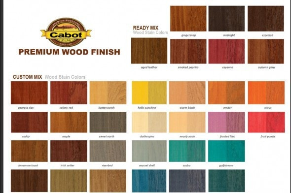 The frugal girl she has stained a thing or two the - Cabot interior stain color chart ...