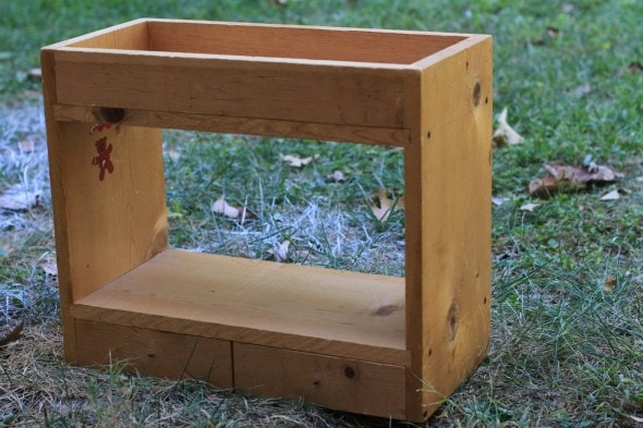 wooden toy bunkbed