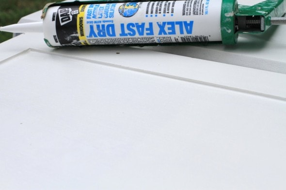 dap latex caulk for cabinet doors