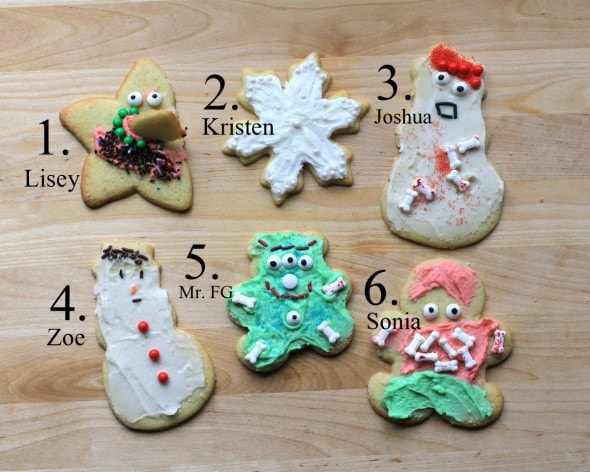 cookie guessing contest answers