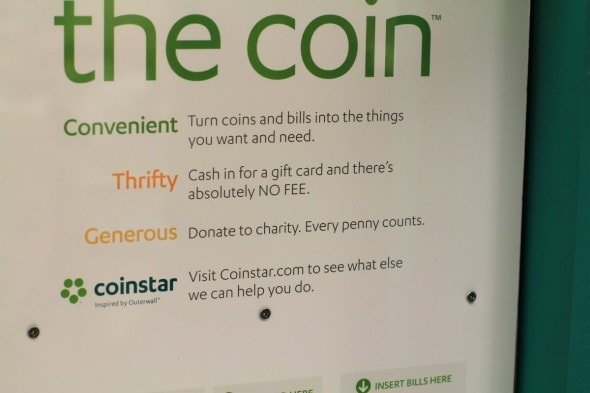 Our Coinstar Experience (and $50 of Amazon money for one of