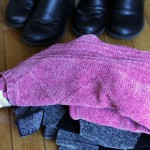 Make Boot Socks from Old Sweaters (super easy!!)