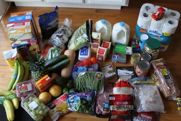the frugal girls' groceries-Aldi