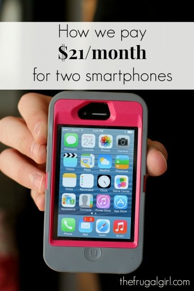 $21 smartphone plan