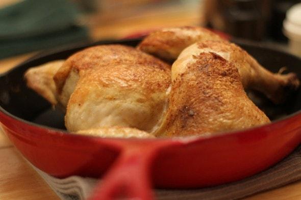 skillet roasted chicken