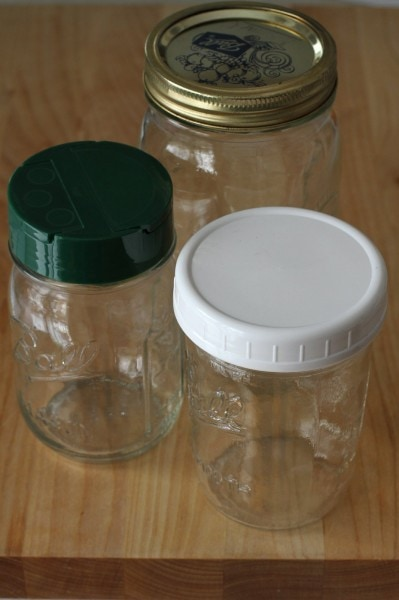 Mason Jars for storing food